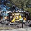 La calesita de Castelar amaneció incendiada
